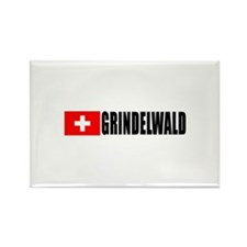 Grindelwald, Switzerland Rectangle Magnet (100 pa
