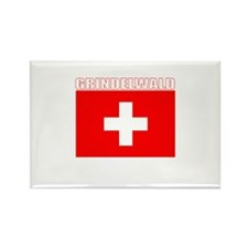 Grindelwald, Switzerland Rectangle Magnet (10 pac