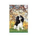 Spring & Tri Cavalier Sticker (Rectangle)