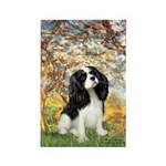 Spring & Tri Cavalier Rectangle Magnet