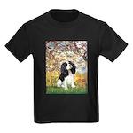 Spring & Tri Cavalier Kids Dark T-Shirt