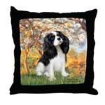 Spring & Tri Cavalier Throw Pillow