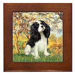 Spring & Tri Cavalier Framed Tile