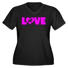 pinklove-schnauzerminiature Plus Size T-Shirt