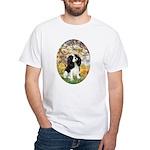 Spring & Tri Cavalier White T-Shirt