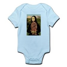 Mona's Ruby Cavalier Infant Bodysuit