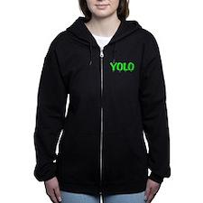 YOLO Women's Zip Hoodie