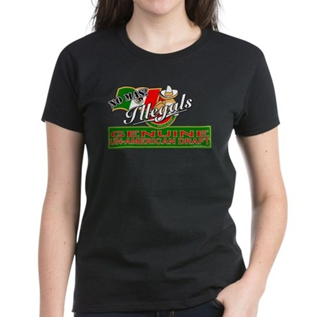 Illegals: Un-American Draft Women's Dark T-Shirt