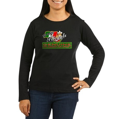 Illegals: Un-American Draft Women's Long Sleeve Da