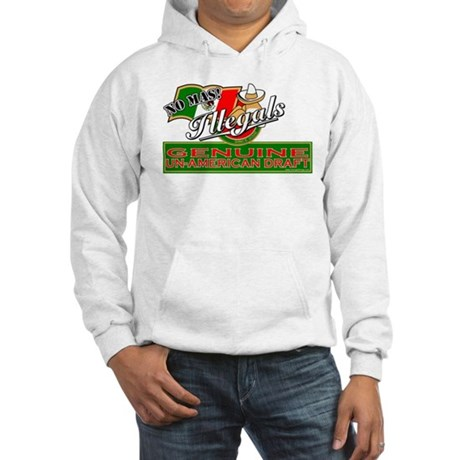 Illegals: Un-American Draft Hooded Sweatshirt