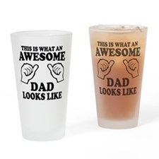 This is what an awesome dad looks like T-shirts Dr