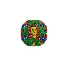 Cute Catholic saints Mini Button
