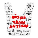 I am more than Autism Bib
