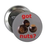 Scarlet and Gray Got Nuts? button