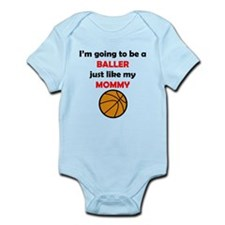 Baller Like My Mommy Body Suit
