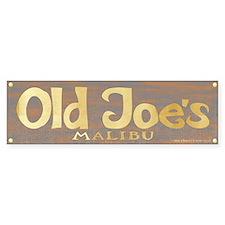 Old Joe's Malibu Bumper Bumper Sticker