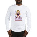 Vote 2004 Color Long Sleeve T-Shirt