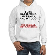 I like barbecuing my family Hoodie