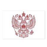 Strk3 Russian Eagle Postcards (Package of 8)