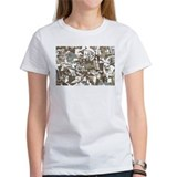 Abstract Retro Neutral Tee