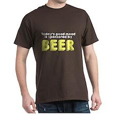 Today's good mood beer T-Shirt