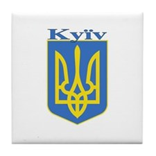 Kyiv, Ukraine Tile Coaster