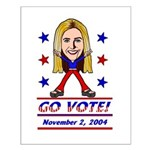 Vote 2004 Color Small Poster
