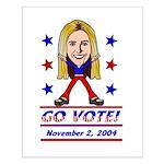 Vote 2004 Color Small Poster
