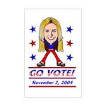Vote 2004 Color Mini Poster Print