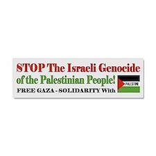 Zionist Genocide - Car Magnet 10 x 3