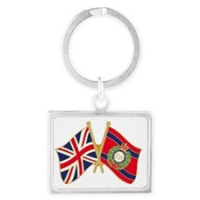 SAPPER LOYALTY BADGE Landscape Keychain