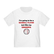 Baseball Player Like My Grandpa T-Shirt