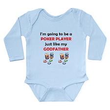 Poker Player Like My Godfather Body Suit