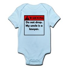 Warning My Uncle Is A Lawyer Body Suit