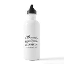Dad definition Water Bottle