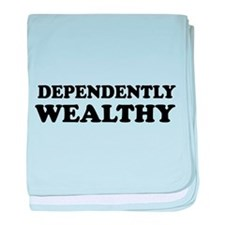 Dependently wealthy baby blanket