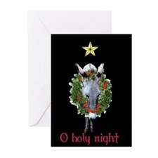 O HOLY NIGHT CARD Greeting Cards