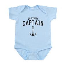 God Is My Captain Body Suit