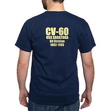 Personalized Uss Saratoga Cv-60 T-Shirt