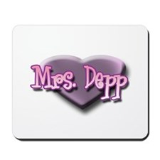 Mrs. Depp Mousepad