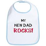 My NEW DAD ROCKS! Bib