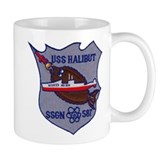 USS HALIBUT Small Mug
