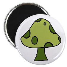 Green Mushroom Magnets