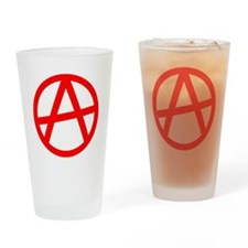 Unique Anarchy Drinking Glass