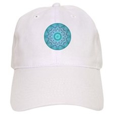 """Softened Heart Mandala Baseball Cap"