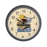 Noah's Ark Wall Clock