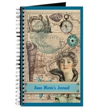 Personalized Vintage Nautical Journal