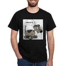 FIN-robot-dog-woot T-Shirt