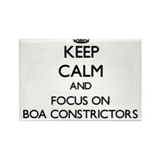 Keep Calm and focus on Boa Constrictors Magnets