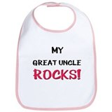 My GREAT UNCLE ROCKS! Bib